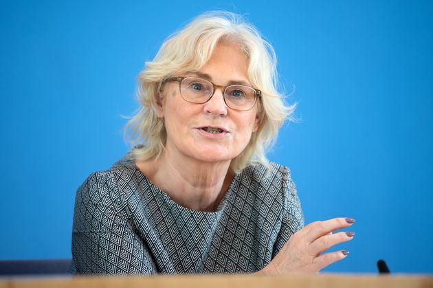 La ministra de Justicia de Alemania, Christine