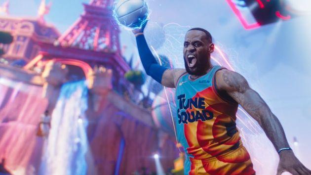 LeBron James en 'Spaces Jam: Nuevas