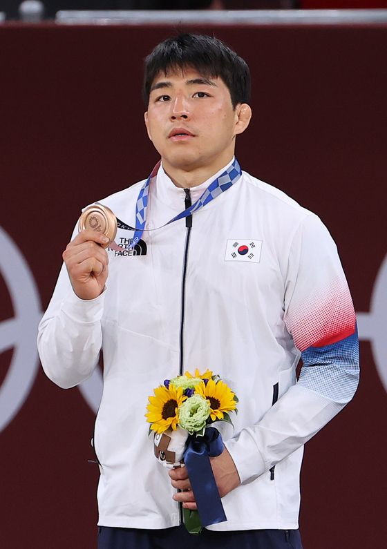 2020 도쿄올림픽 유도 남자 73㎏급 동메달을 딴 안창림