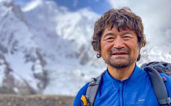 장애 산악인 최초로 히말라야 14좌 완등에 성공한 김홍빈 대장. 김 대장은 18일 8000m급 등정의 마지막 관문인 브로드피크 완등에 성공하고 하산 중 조난을