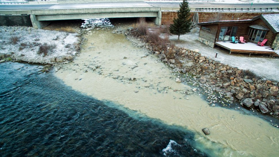 In 2016, a pipe connected to a wastewater pond at the Yellowstone Club broke, spilling some 35 million gallons of effluent in