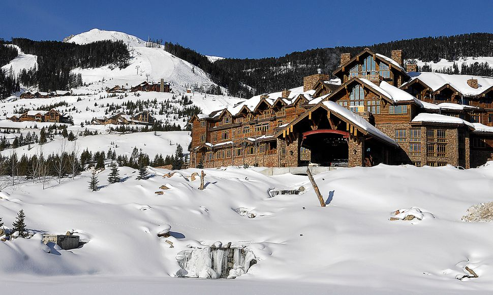The Yellowstone Club near Big Sky, Montana, touts itself as the only private mountain ski resort in the world. On its <a href