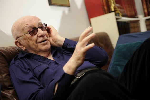 Henri Vernes, créateurs de Bob Morane, en février