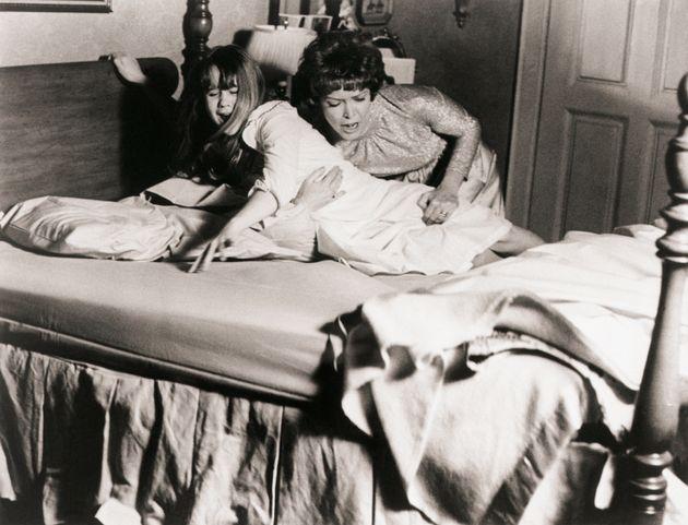 Linda Blair (left) and Ellen Burstyn in 1973's