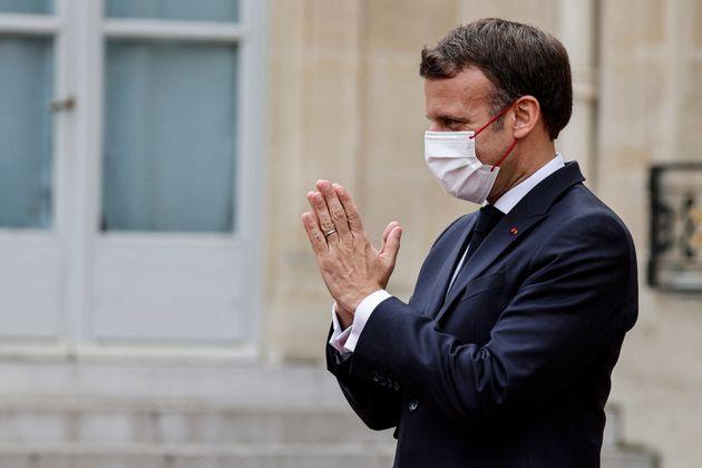 Emmanuel Macron, ici à l'Élysée à Paris, le 5 juillet