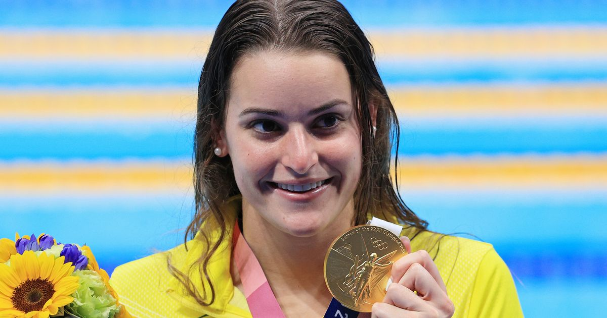 Gold-Medal Swimmer Drops F-Bomb On Live TV, Then Almost Makes It Worse