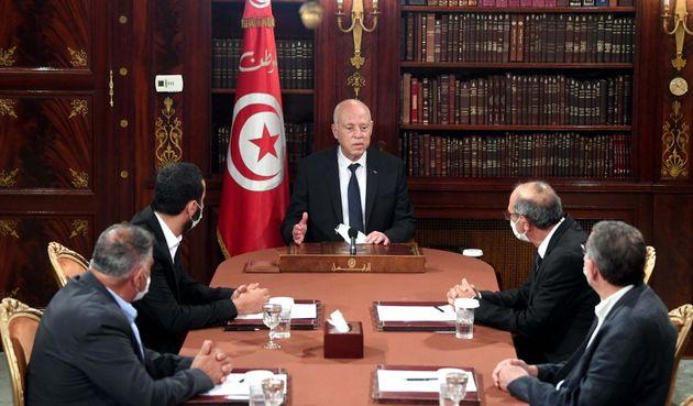 El presidente tunecino, Kais