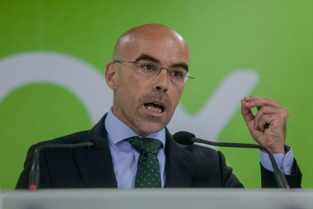 El vicepresidente del Comité de Acción Política de Vox, Jorge Buxadé, en una foto de