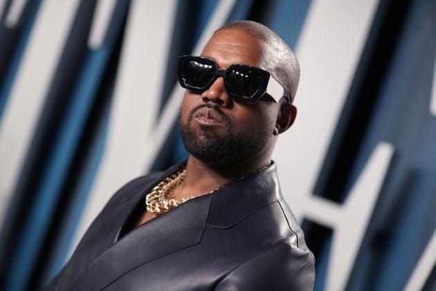 Kanye West lors de la soirée