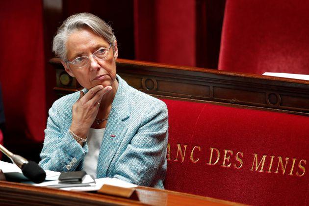 La ministre du Travail Elisabeth Borne, ici à l'Assemblée en 2018, a laissé entendre...