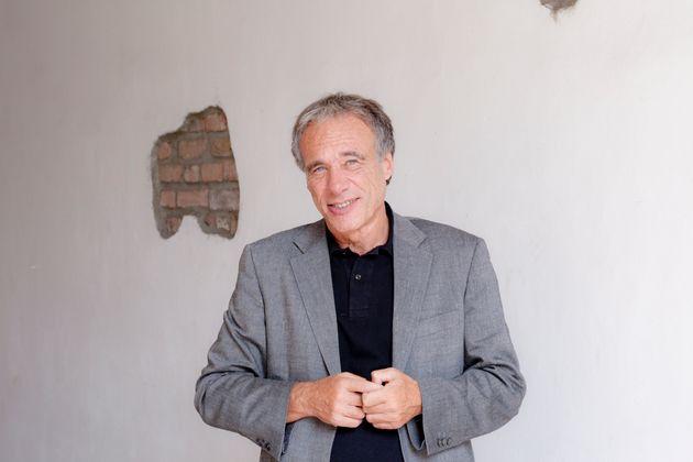 Ainis Michele Italian writer, Cremona, Italy, 2011. (Photo by Leonardo Cendamo/Getty