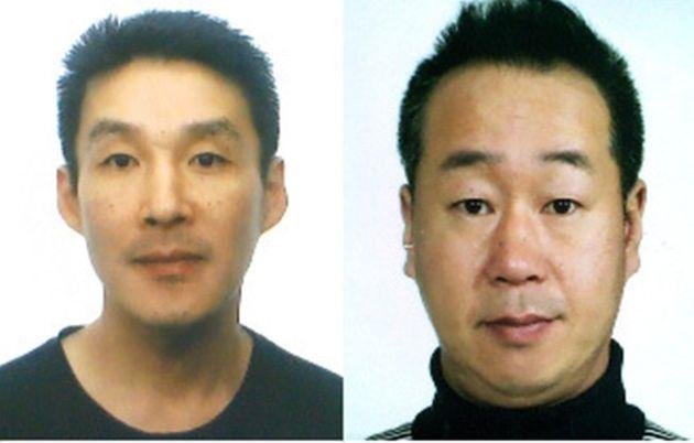 제주 중학생 살인사건 피의자인 주범 백광석(48·왼쪽)과 공범