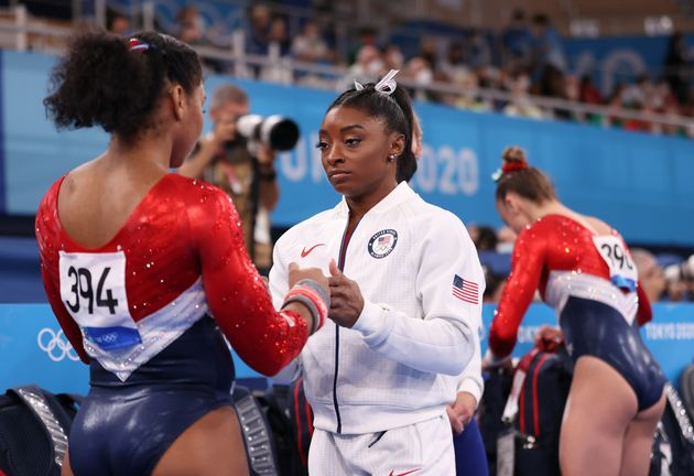 The World Is Gutted By Simone Biles' Withdrawal From Team Competition