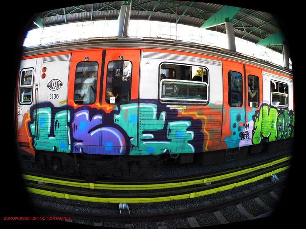 Συρμός της Γραμμής 1 του Μετρό (πρώην ΗΣΑΠ)