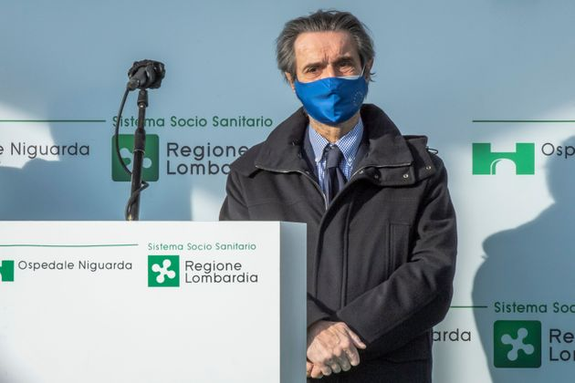 Attilio Fontana President of Lombardy Region (Photo by Francesco Prandoni/Getty Images)