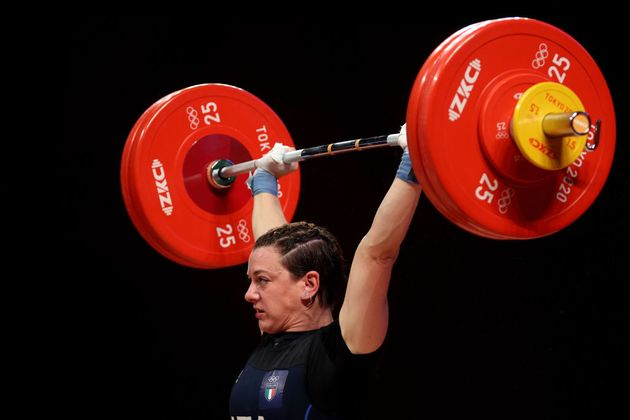 L'azzurra Giorgia Bordignon è argento nel sollevamento pesi in categoria 64