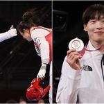 태권도 은메달 이다빈이 경기 직후 '승리한 상대 선수'에게 보여준 모습에선 멋짐이라는 게