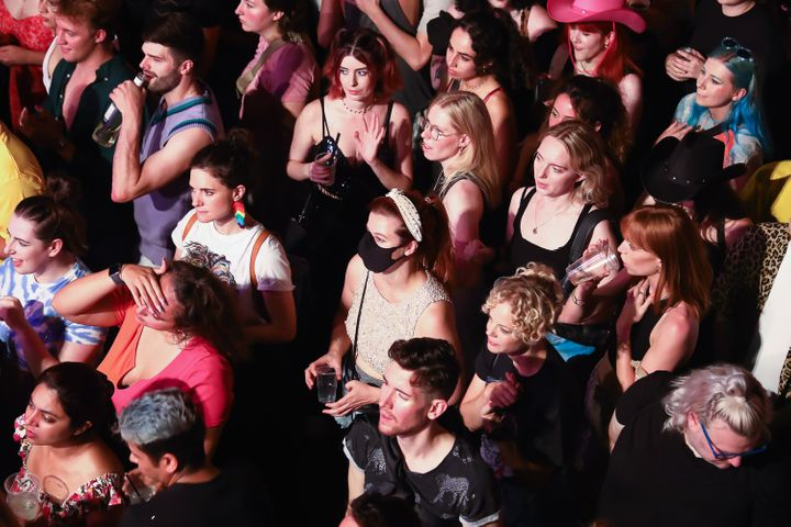 The Clapham Grand welcomed audience members at full capacity as live performance returns on July 26.
