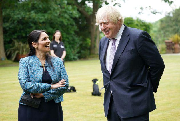 Boris Johnson Under Fire From Business Chief Over Hi-Viz 'Chain Gangs' Plan