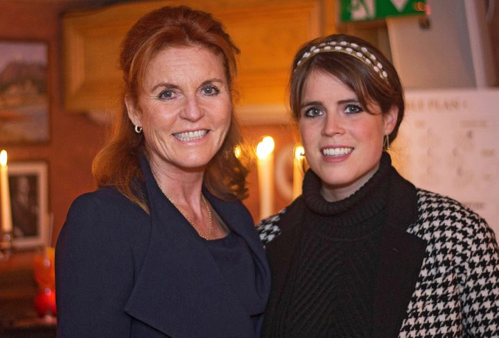 The Duchess of York and Princess Eugenie attend The Miles Frost Fund party at Bunga Bunga Covent Garden on June 27, 2017, in