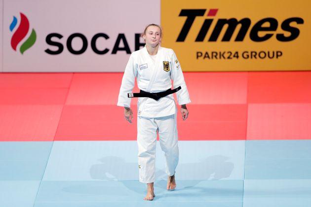 La judoca alemana Martyna