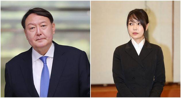 윤석열 전 검찰총장 / 부인 김건희