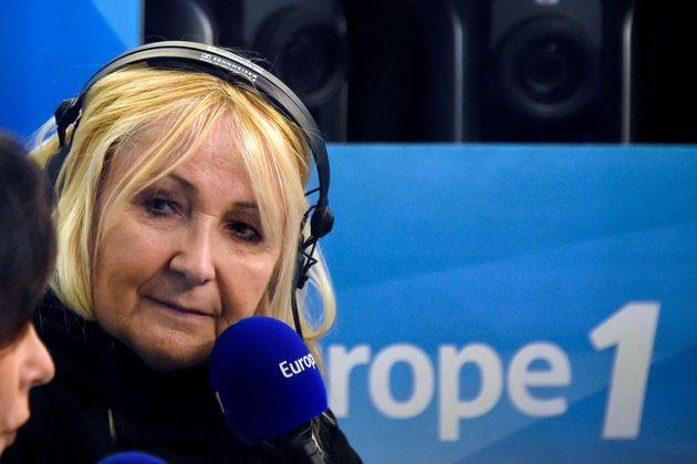 Julie Leclerc dans un studio d'Europe 1 le 19 mars