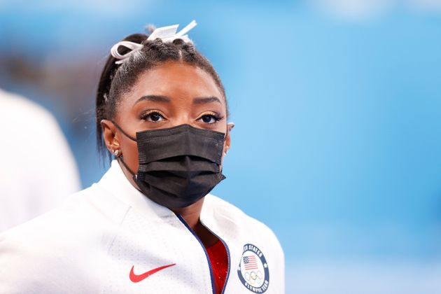 La gimnasta estadounidense Simone