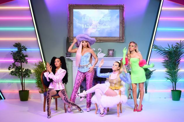 Madame Tussauds London unveils Little Mix's figures (Images taken as part of a Covid-secure shoot