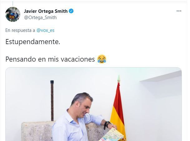 El tuit de Ortega
