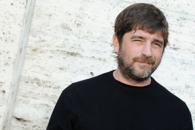 Italian actor Libero De Rienzo attend at the photocall of the film Smetto quando voglio ad honorem, at...