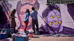 El mural de Ciudad Lineal será restaurado por sus creadores tras fracasar los intentos de