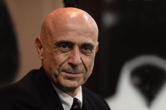 BOLOGNA, ITALY - NOVEMBER 27: Italian politiacian Marco Minniti attends