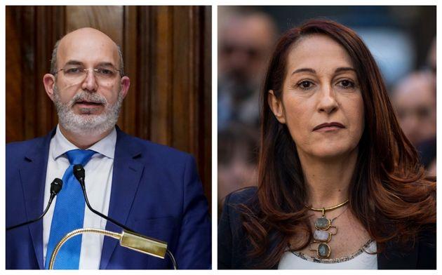Vito Crimi e Paola