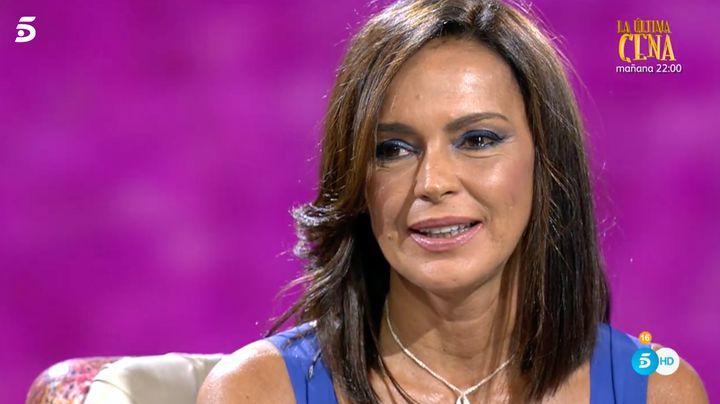 Olga Moreno ofrece una entrevista en 'Ahora Olga'.