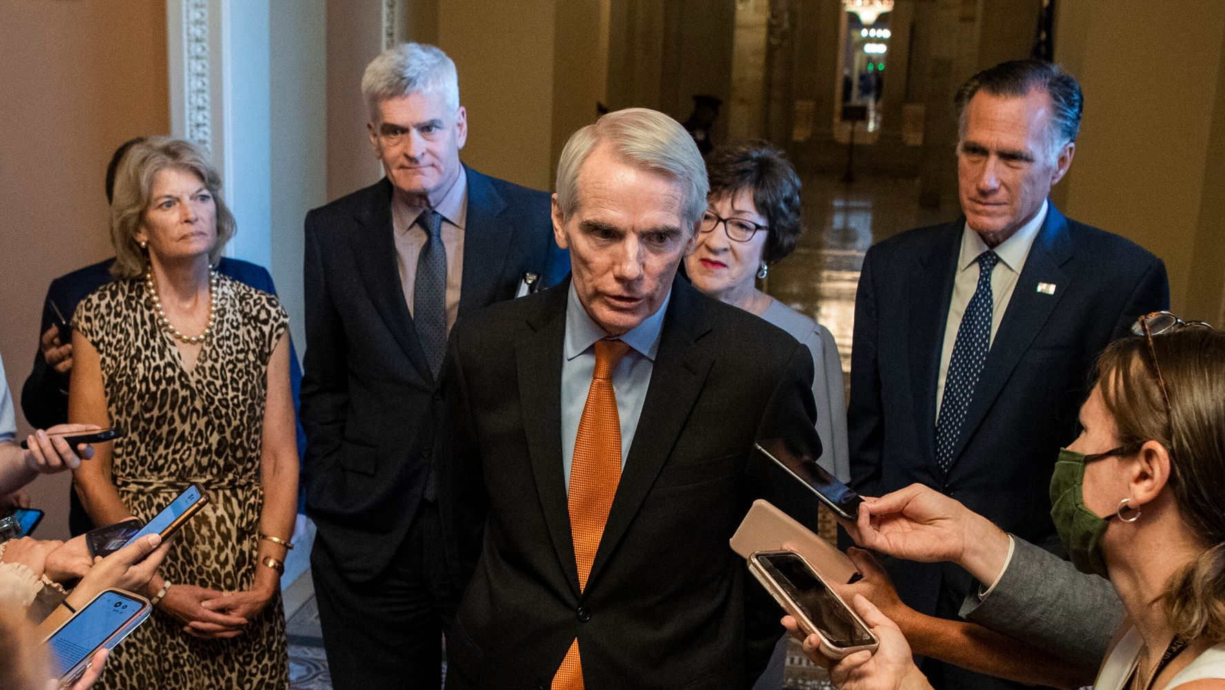 Senate Votes To Advance Infrastructure Bill After Bipartisan Talks Yield Breakthrough