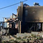 Ολονύχτια μάχη με τις φλόγες στην Αχαΐα - Βελτιωμένη η εικόνα στα δύο
