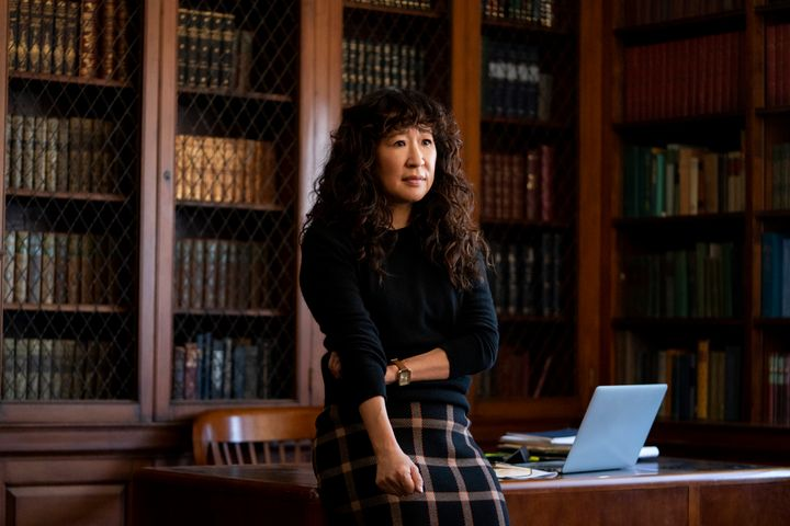 """Sandra Oh stars in """"The Chair"""" on Netflix."""
