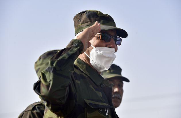 Brahim Ghali, líder del Frente
