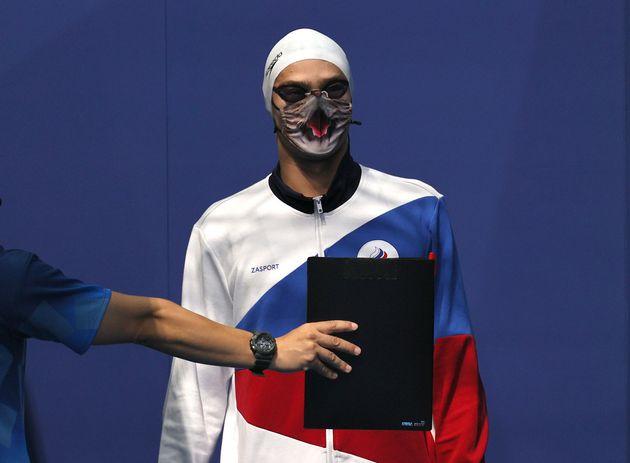 O Γεβγένι Ριλόφ στον ημιτελικό...