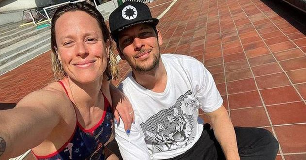 Federica Pellegrini con Matteo Giunta in una foto tratta dal profilo Instagram della