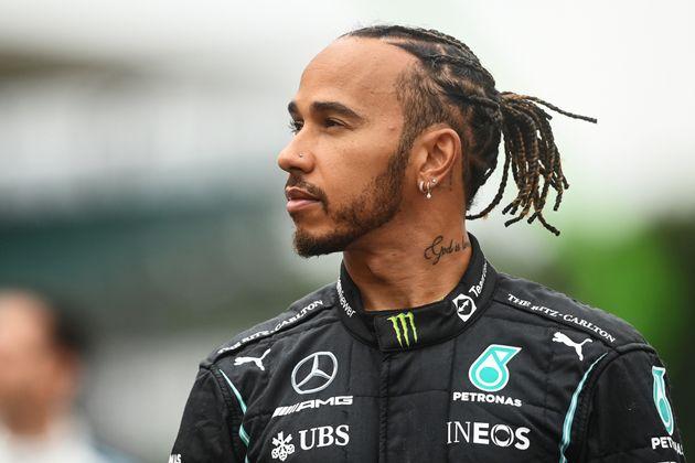 Lewis Hamilton lors du GP de Grande-Bretagne, sur le circuit de Silverstone en Angleterre, le 15 juillet