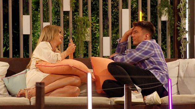 Faye has been chatting to Sam after being led to believe Teddy hasn't been loyal to