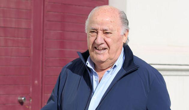 Amancio Ortega, en Coruña, en