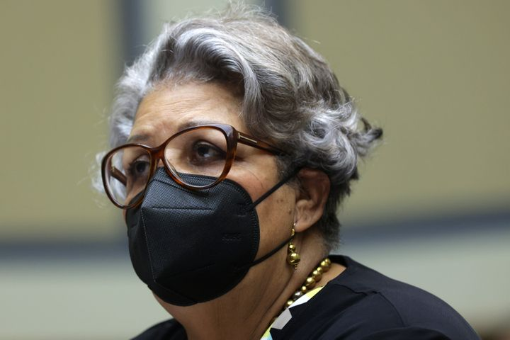 """Texas state Rep. Senfronia Thompson (D) referred to new Republican voting laws as """"Jim Crow 3.0"""" during a hearing before the"""