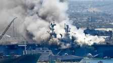 Navy Charges Sailor With Setting Fire That Destroyed Warship