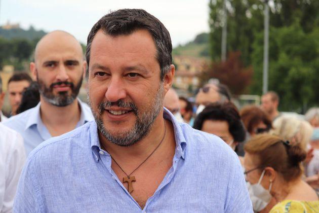 Il leader della Lega, Matteo