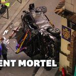 Une voiture percute une terrasse de bar à Paris, un mort et six