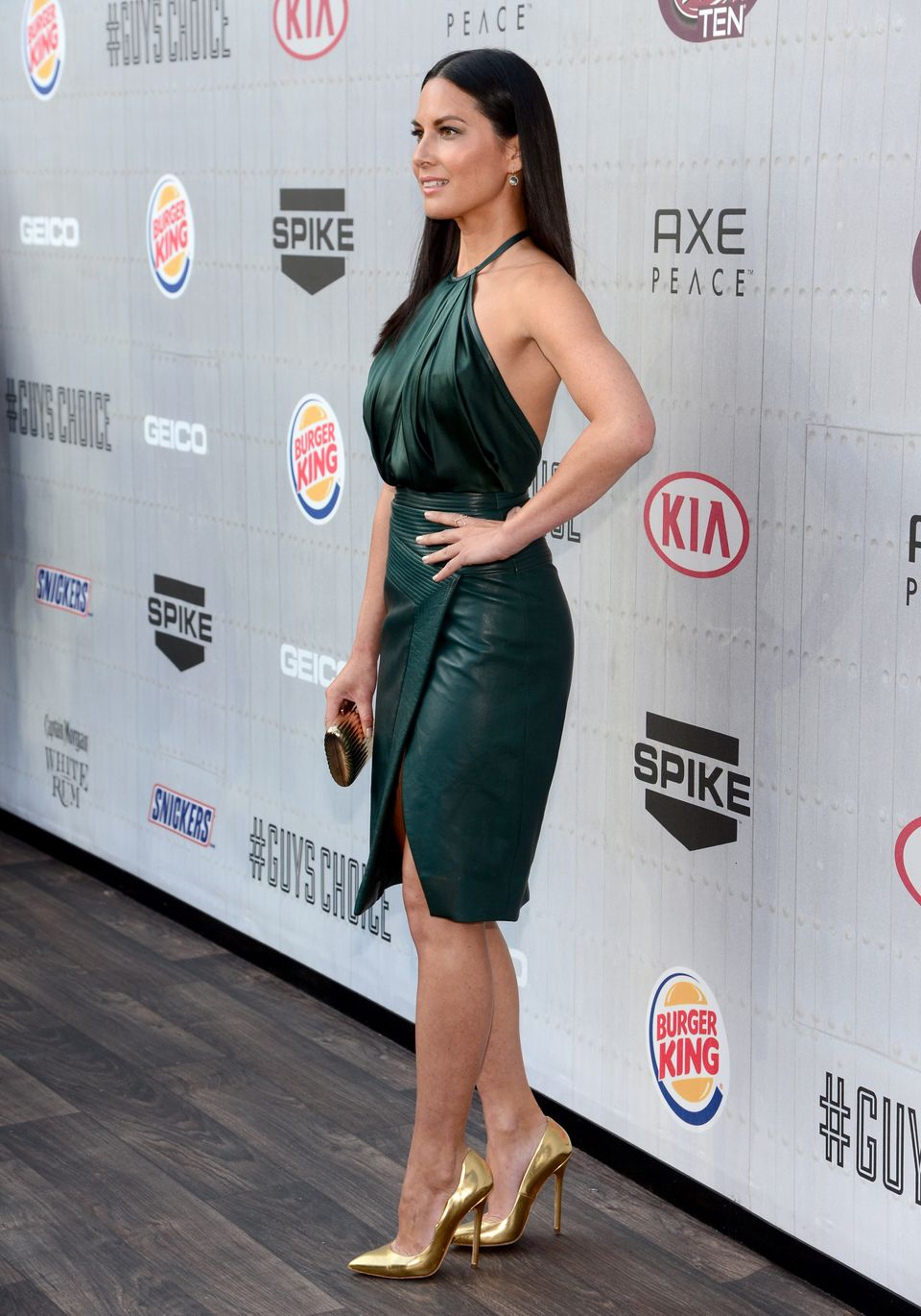 CULVER CITY, CA - JUNE 07:  Actress Olivia Munn attends Spike TV's 'Guys Choice 2014' at Sony Pictures Studios on June 7, 201