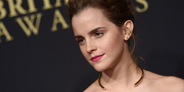 BEVERLY HILLS, CA - OCTOBER 30: Actress Emma Watson arrives at the BAFTA Los Angeles Jaguar Britannia Awards at The Beverly Hilton Hotel on October 30, 2014 in Beverly Hills, California. (Photo by Axelle/Bauer-Griffin/FilmMagic)